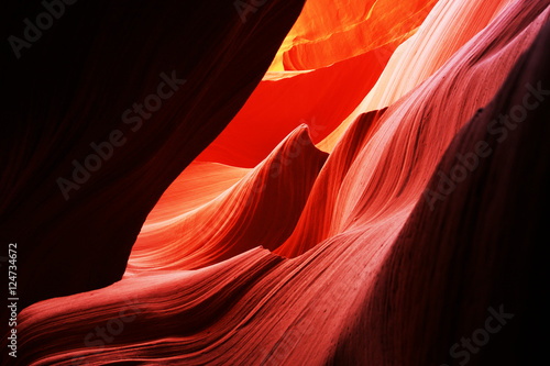 Keuken foto achterwand Antilope Antelope canyon,streamline shape,1