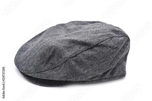 Valokuvatapetti gray flat cap