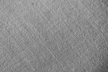 Fototapeta na wymiar Gray fabric material background.