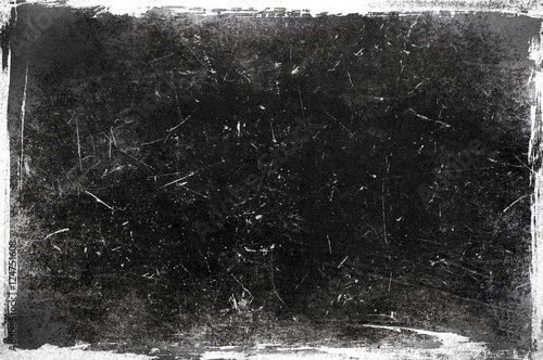 Leinwand Poster Black ans white frame texture