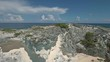 Aerial view of uninhabited Bahamas islands