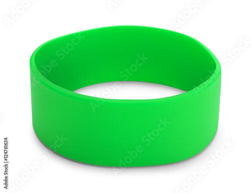 Green Rubber Bracelet
