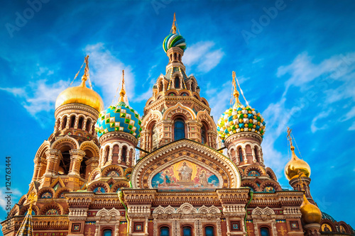 Fotografía  Orthodox church of the Savior on Spilled Blood in St