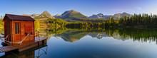 Tatra Mountain Lake  Strbske P...