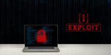 Hacking Exploit Konzept