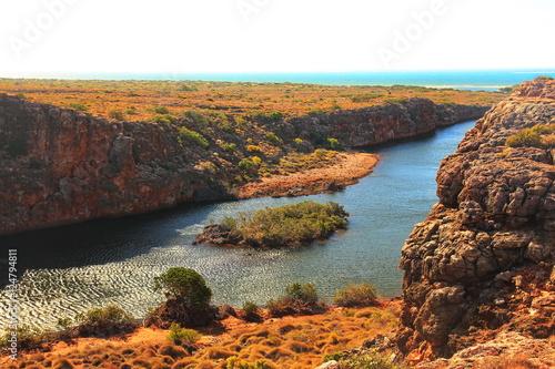 Tuinposter Canyon Cape Range, Australia