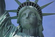 Close-up of the face of Statue of liberty