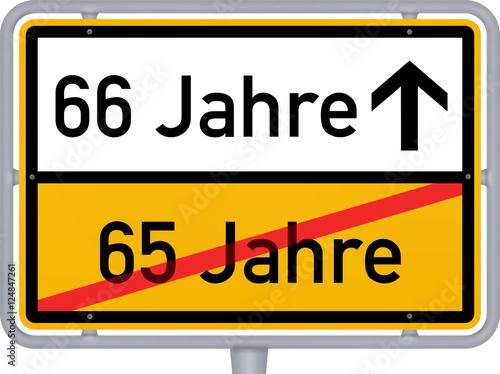 66 Jahre Geburtstag Jubiläum Buy This Stock Illustration And