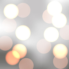 Vector Sparkling Bokeh Illustr...