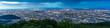 Leinwanddruck Bild - Cityscape of Sapporo at odori Park, Hokkaido, Japan