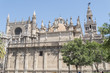 The Cathedral of Saint Mary of the See (Seville Cathedral) in Se