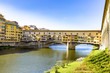Ponte Vecchio Bridge from Florence in Tuscany