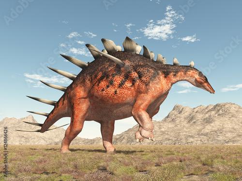 Photo  Dinosaurier Kentrosaurus