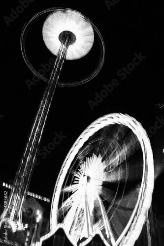 Poster Amusementspark Parque de atracciones