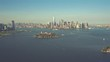 Lower Manhattan | New York City 4K Aerial footage filmed from a helicopter.