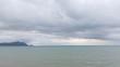 sand beach sea and storm