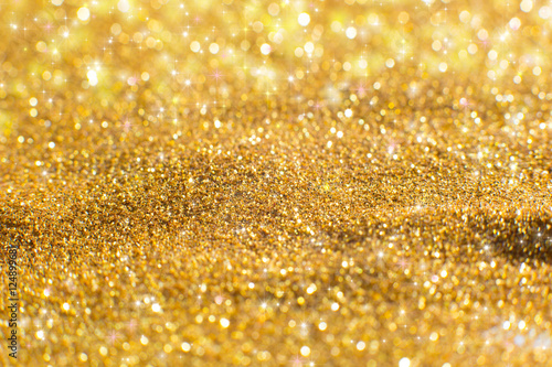 Foto auf AluDibond Artist KB Christmas Glittering background.