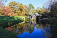 Historic Mabry Mill On The Blu...
