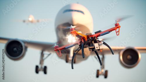 Drone Danger Canvas Print