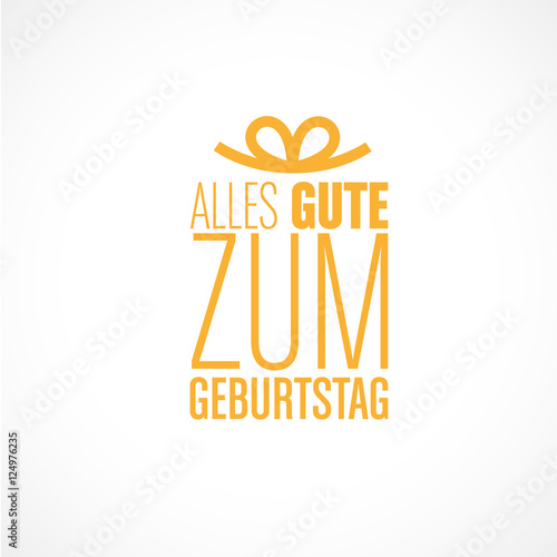 Joyeux Anniversaire En Allemand Buy This Stock Vector And Explore