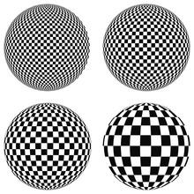 Set 3D Balls