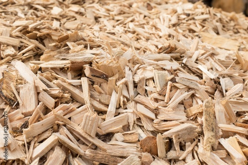 Fotografering Wood Chips