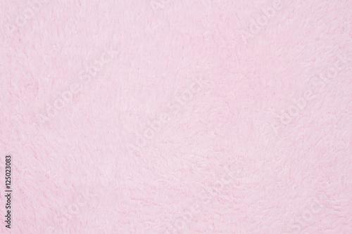 Fotografia, Obraz  Pale pink plush fabric background