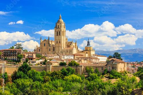 Segovia, Spain. Catedral de Santa Maria de Segovia, Castilla y Leon.