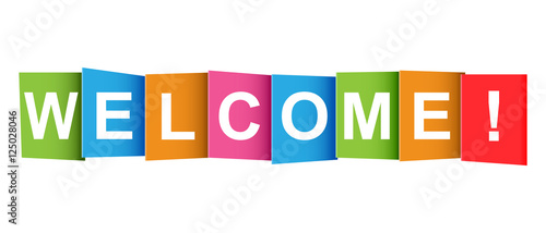 Welcome tag. Market message...