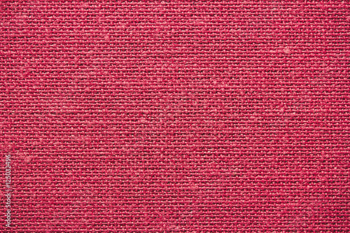 Fotobehang Stof Red checkered fabric background.