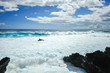 イースター島の海岸