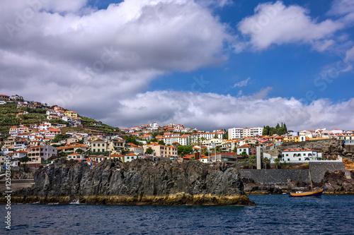 Foto auf AluDibond Stadt am Wasser seafront in Funchal, Madeira island, Portugal