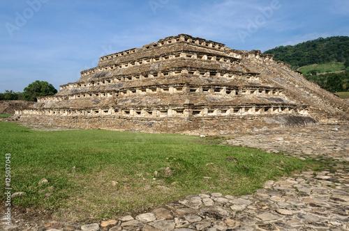 Fotografía  Yacimiento arqueológico de El Tajín, Veracruz (México)