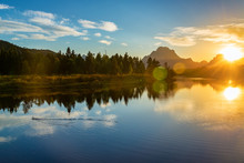 Grand Teton National Park Sunset