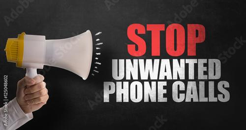 Valokuva  Stop Unwanted Phone Calls