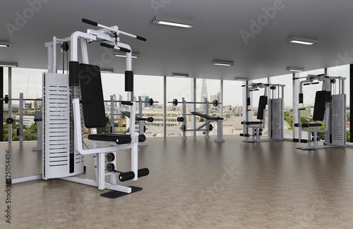 Fotografie, Obraz  Fitnessstudio