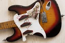 Take Apart Electric Guitar