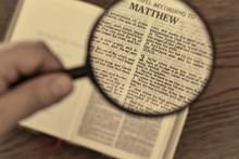 Christmas Bible Reading, Gospel According To Matthew, When Jesus