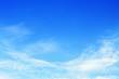 beautiful soft white cloud on blue sky