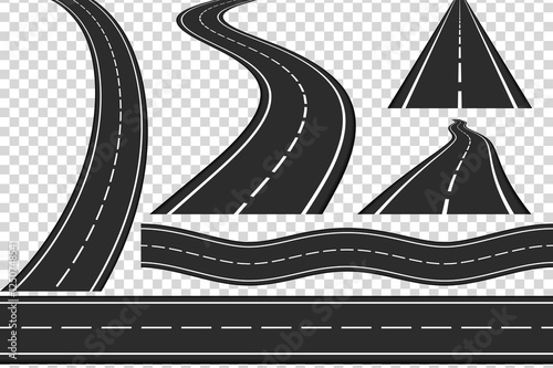 Roads Wallpaper Mural