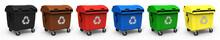 Abfallcontainer Verschiedene F...