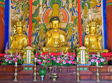 Buddhist Altar Of The Buddhist...