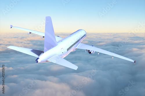Flugzeug Canvas Print
