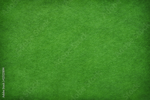 Abstract green felt background - 125121894