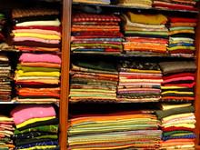 Beautiful Silk Brocade Fabric