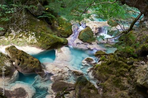 Urederra river spring