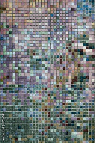 Keuken foto achterwand Graffiti Tile wall mosaic, Penang, Malaysia