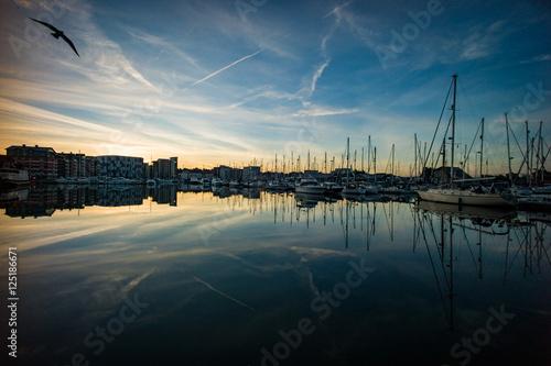 Stampa su Tela Marina Reflections