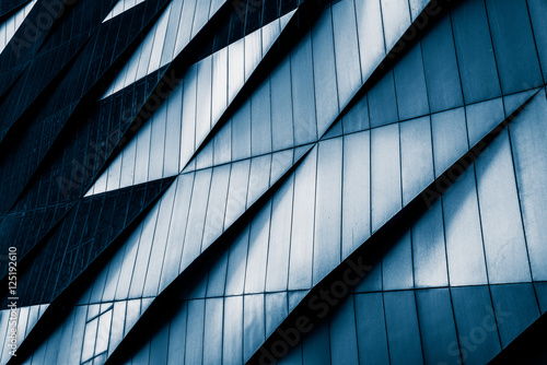 Close-Up Of Modern Office Buildings,Shanghai,China. Fototapet