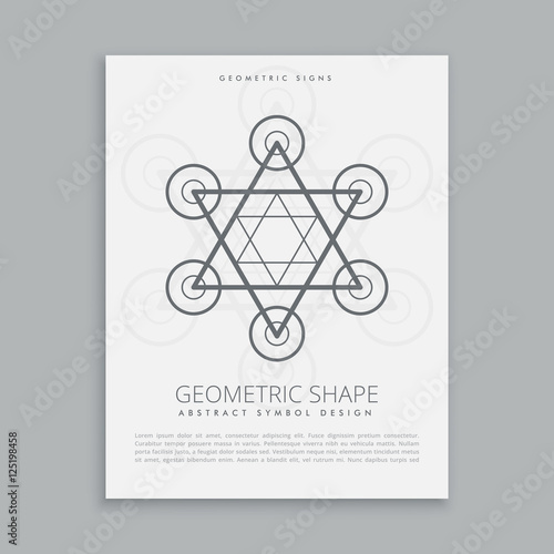 Sacred Geometry Hipster Symbol Buy This Stock Vector And Explore